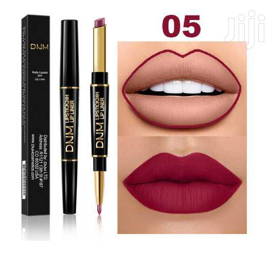 USA DNM Double Head Lipstick Pencil Water Proof and Long Lasting