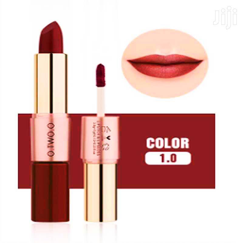 O. TWO. O Lip Gloss Long Lasting Waterproof Matte Lipstick (Red)