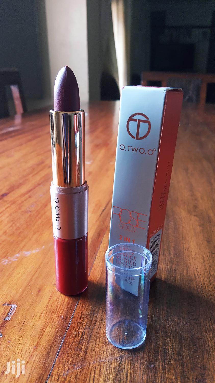O. TWO. O Lip Gloss Long Lasting Waterproof Matte Lipstick (Red) | Makeup for sale in Kampala, Central Region, Uganda