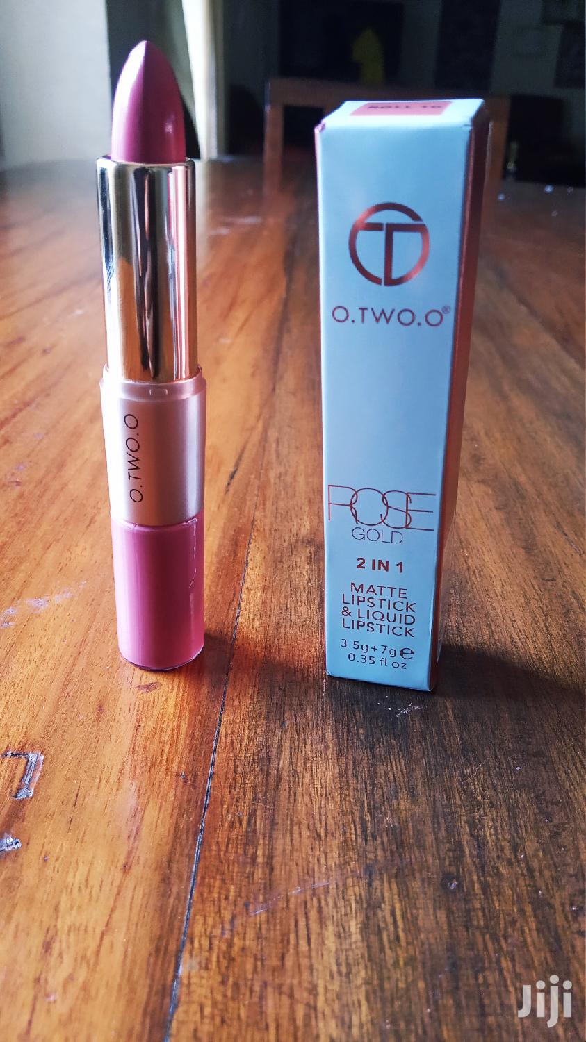 O. TWO. O High Lip Gloss Long Lasting Waterproof Matte Lipstick (Pink) | Makeup for sale in Kampala, Central Region, Uganda