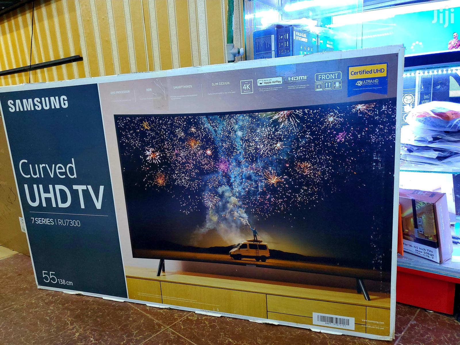 Brand New Samsung Curved Suhd 4k Smart Tv 55 Inches