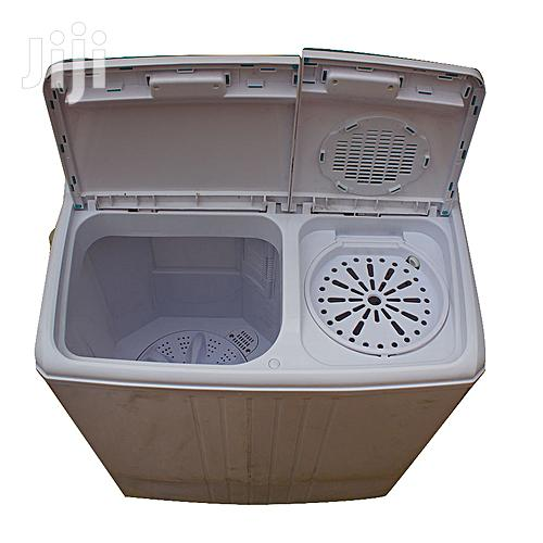 Venus VWP620 Semi Automatic Twin Tub Washing Machine White   Home Appliances for sale in Kampala, Central Region, Uganda