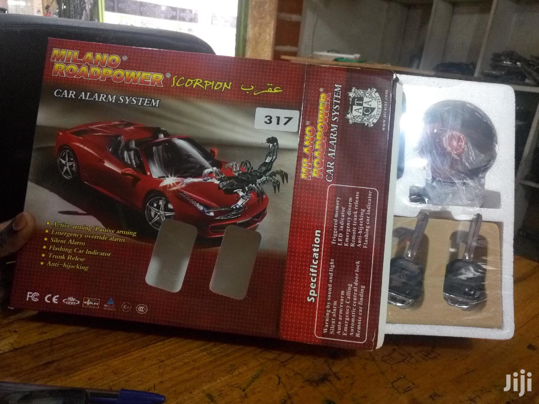 Scorpion Car Alarm With Key
