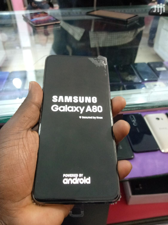 Samsung Galaxy A80 128 GB Black | Mobile Phones for sale in Kampala, Central Region, Uganda