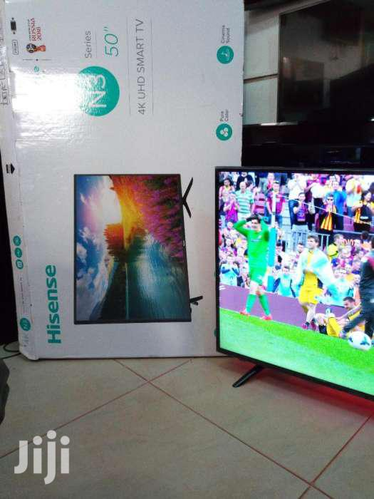 Brand New Hisense Smart 4k UHD Tv 50 Inches | TV & DVD Equipment for sale in Kampala, Central Region, Uganda