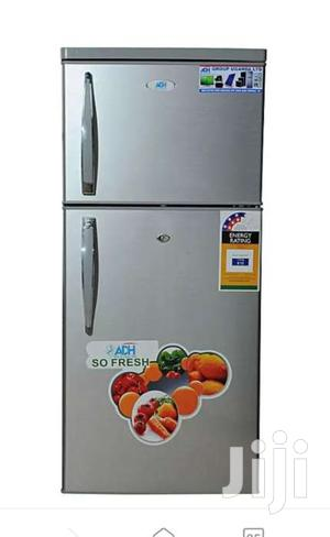 ADH 220 Liters Double Door Refrigerator Silver   Kitchen Appliances for sale in Central Region, Kampala