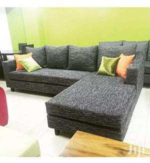 L Sectional Sofa Set . 5 Sitter Large Chaise - Grey   Furniture for sale in Central Region, Kampala