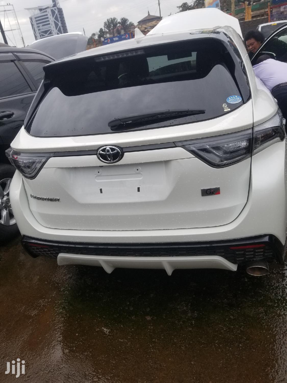 Archive: Toyota Harrier 2016 White