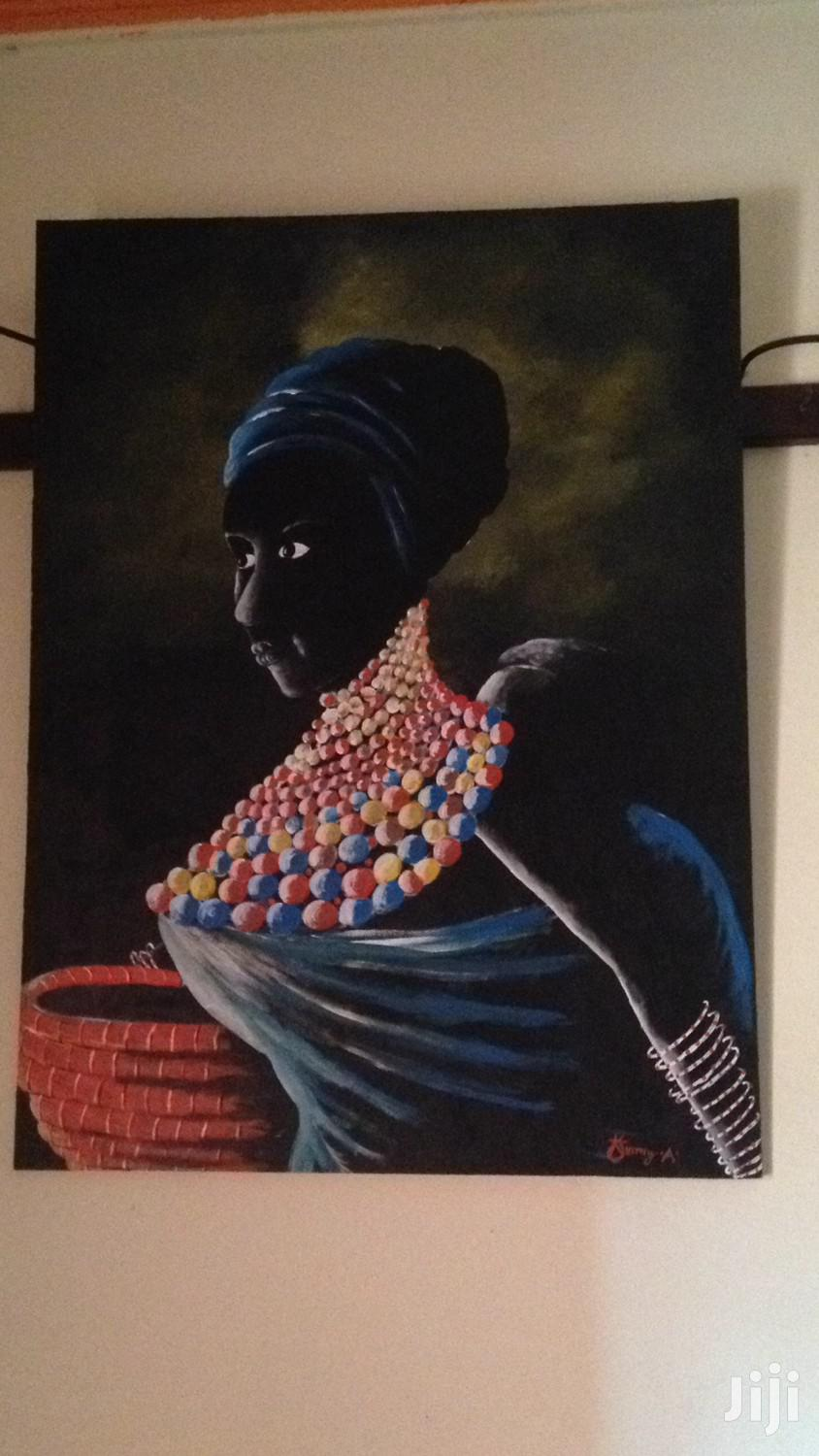 African Woman Painting   Arts & Crafts for sale in Kampala, Central Region, Uganda
