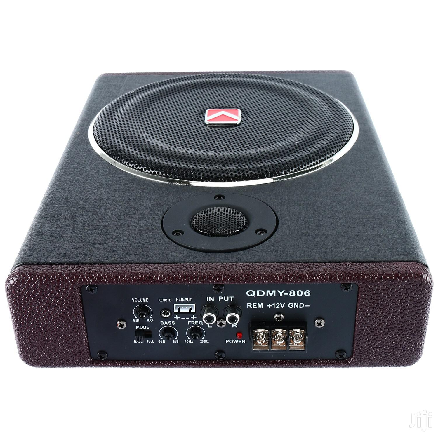 "8"" 600W Active Under Seat Car Sub Woofer Power Amplifier"