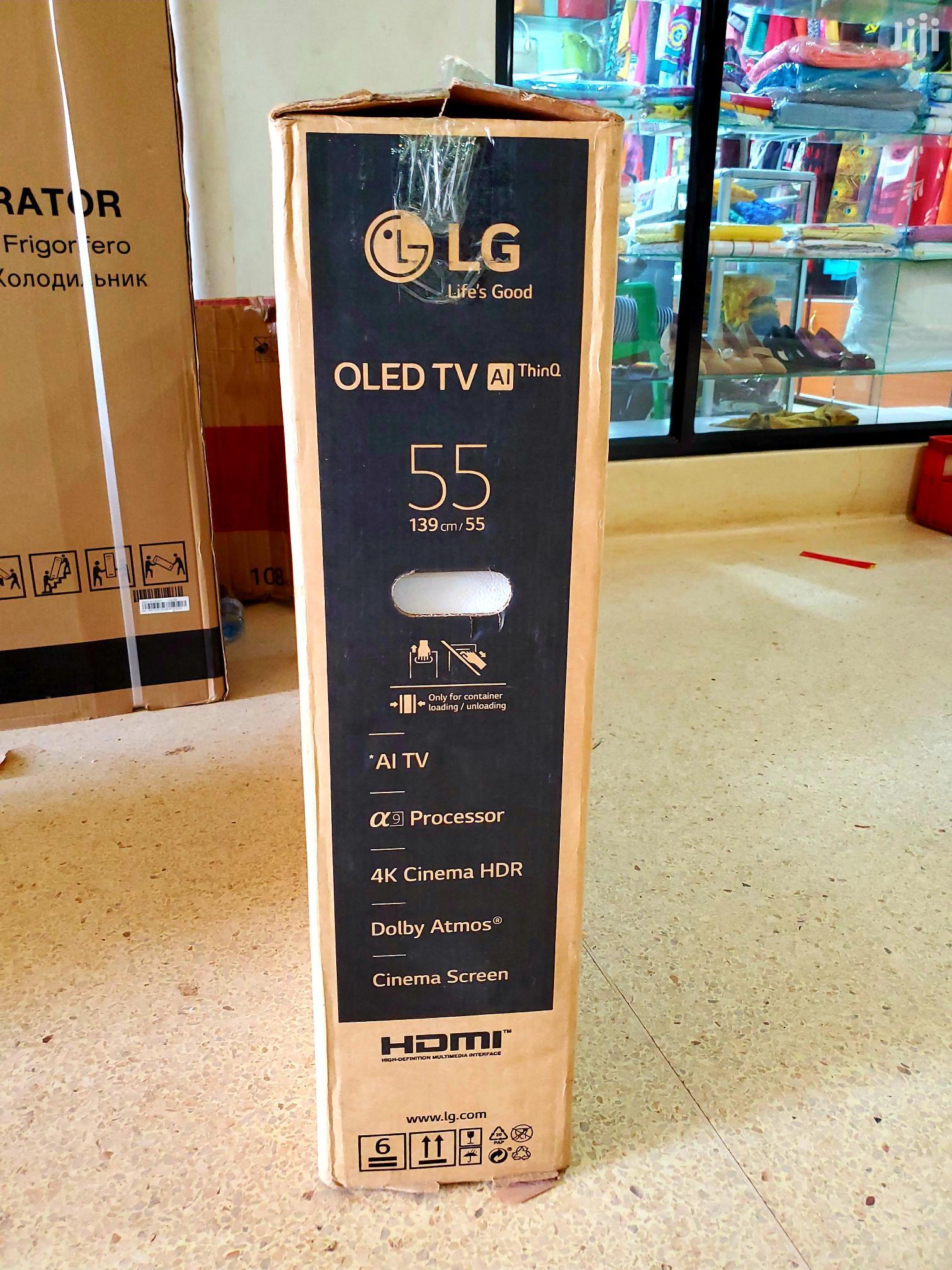 Brand New LG Smart Oled Ultra Black Tv 55 Inches