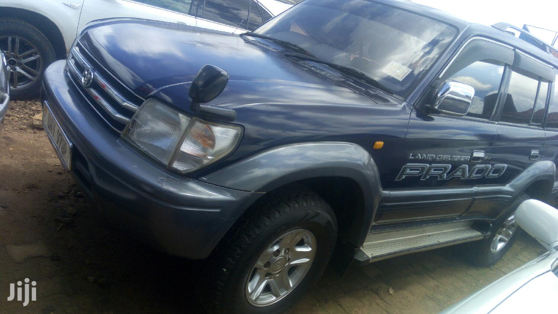 Toyota Land Cruiser 1999 Blue