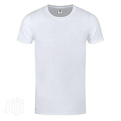 4 in 1 Pack of Men's Cotton T-Shirts - Multi-Color | Clothing for sale in Kampala, Central Region, Uganda