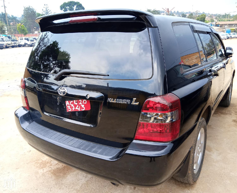 Toyota Kluger 2006 Black