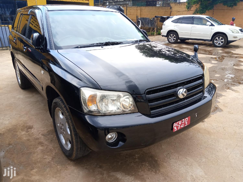 Toyota Kluger 2006 Black   Cars for sale in Kampala, Central Region, Uganda