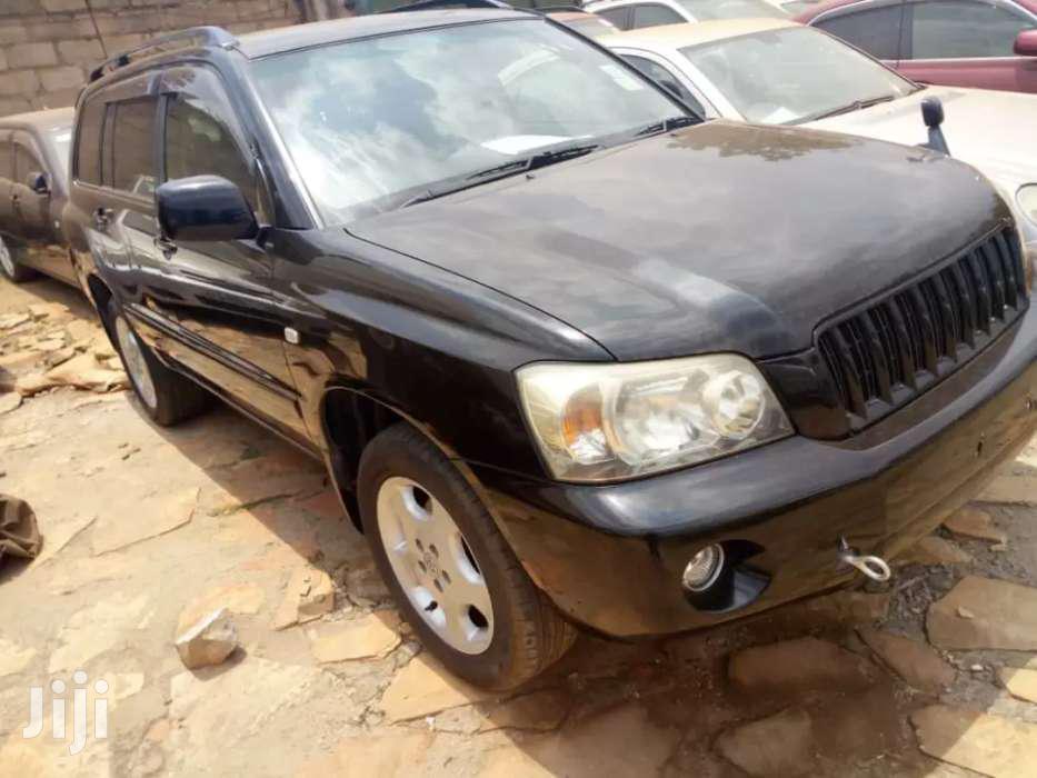 Toyota Kluger 2005 Black