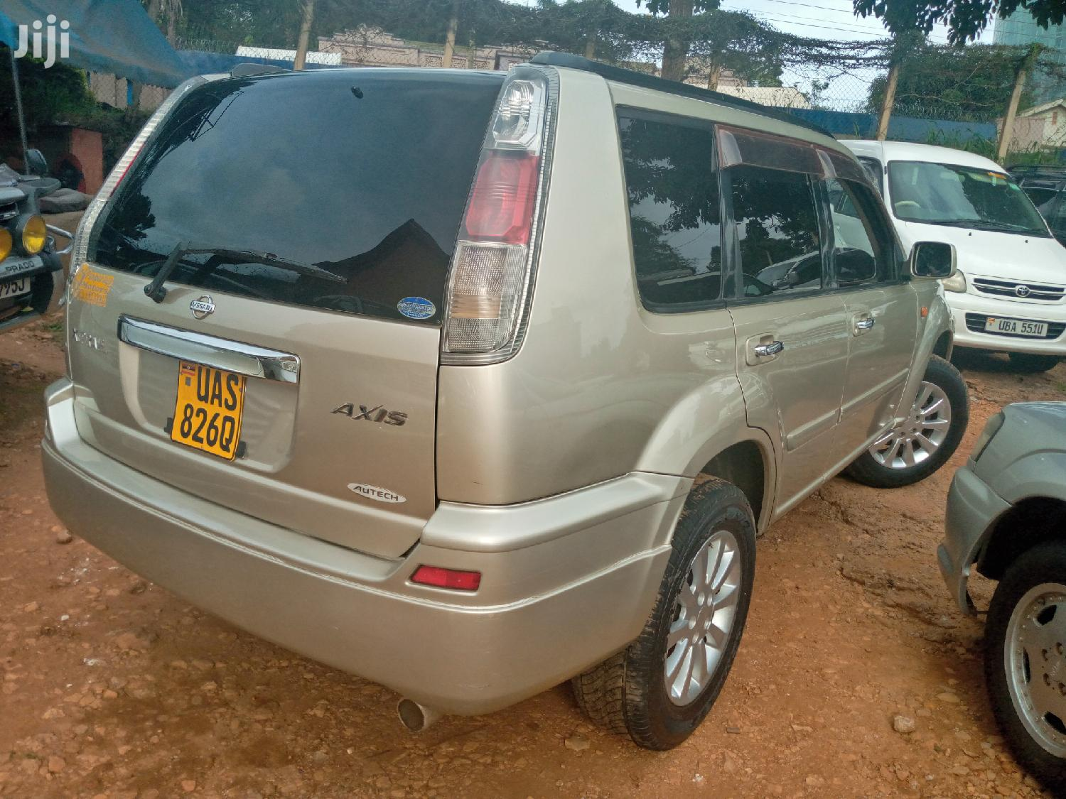 Archive: Nissan X-Trail 2003 Gold