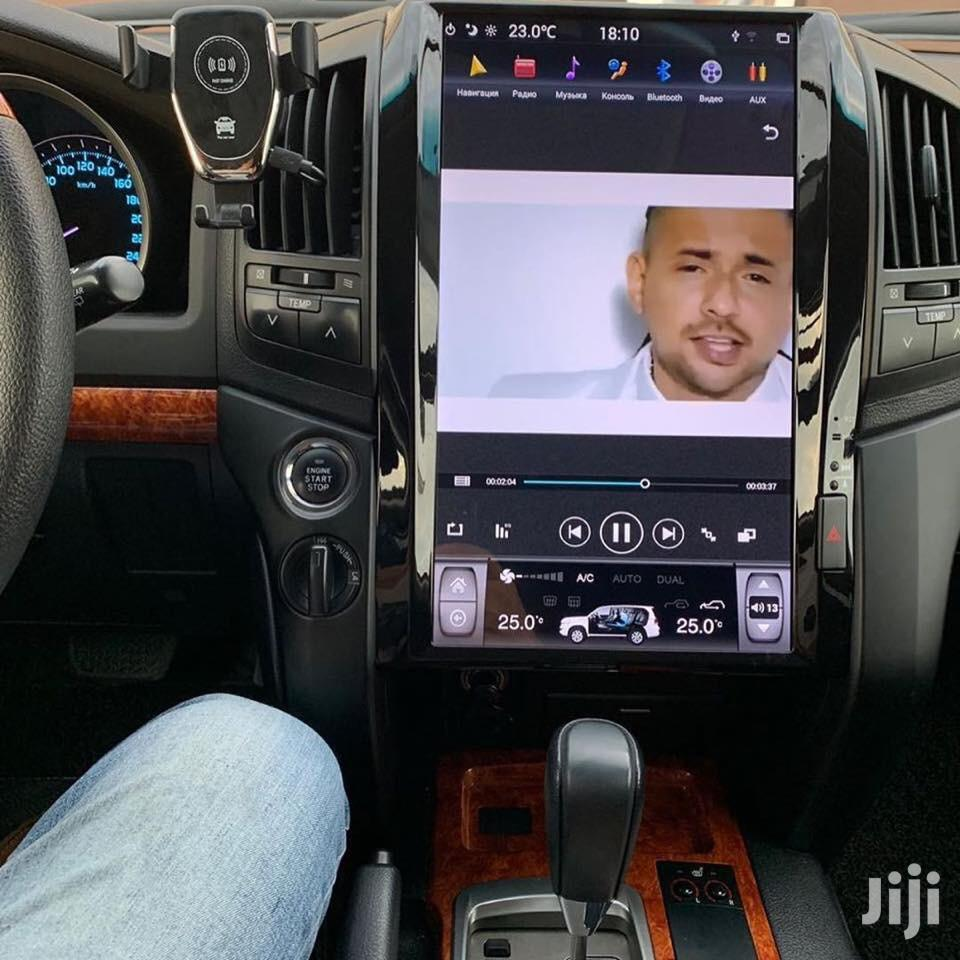 Landcruiser 2007-2015 Tesla Style Car Radios