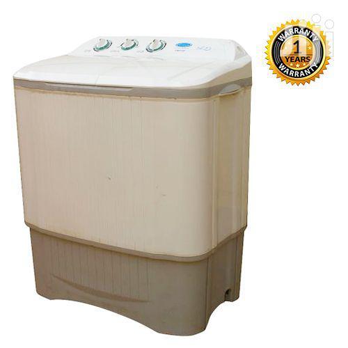 Venus Semi Automatic VWP720 Twin Tub Washing Machine - White