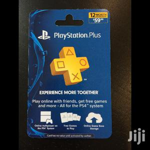 1 Year Playstation Plus Subscription   Video Games for sale in Central Region, Kampala