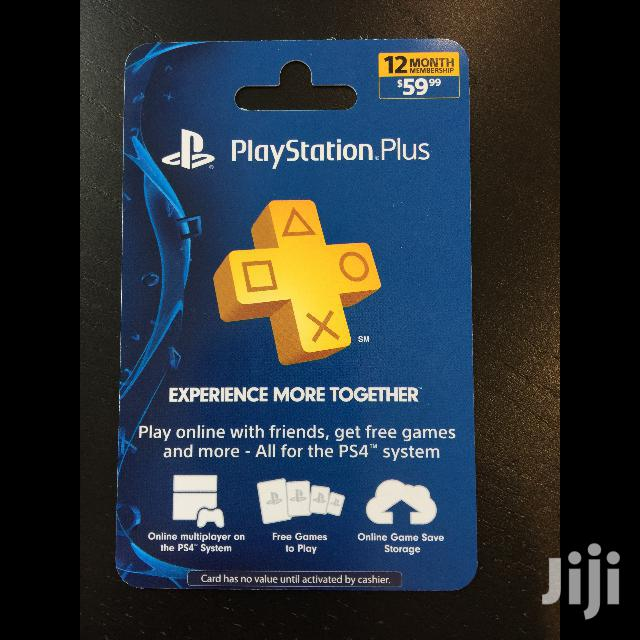 1 Year Playstation Plus Subscription