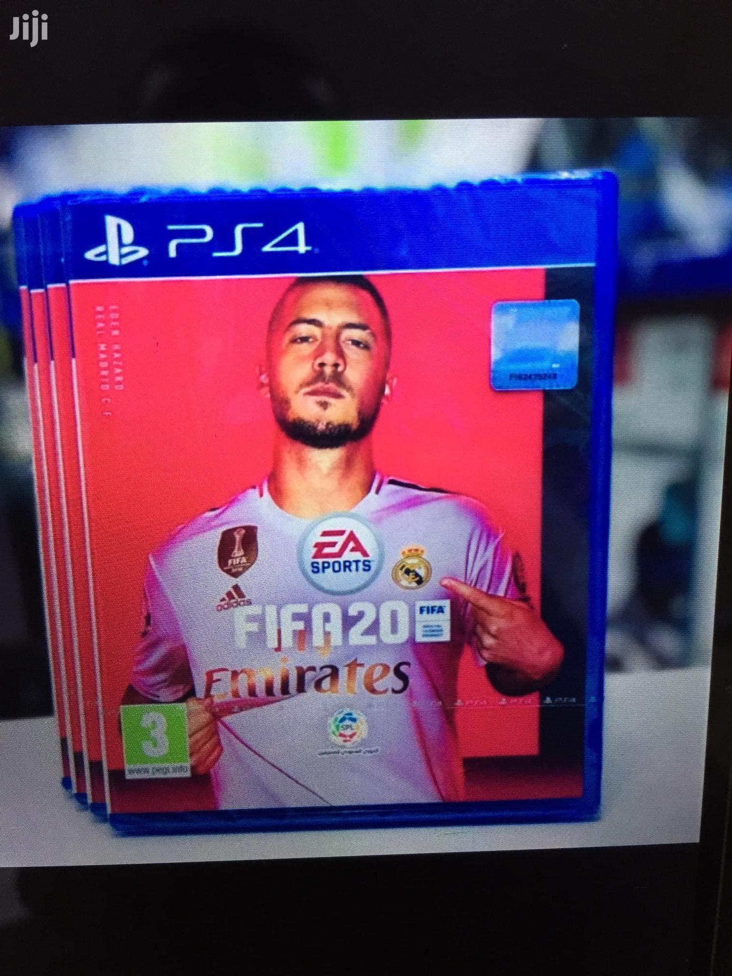 Archive: Brand New Fifa 20 Game For Ps4