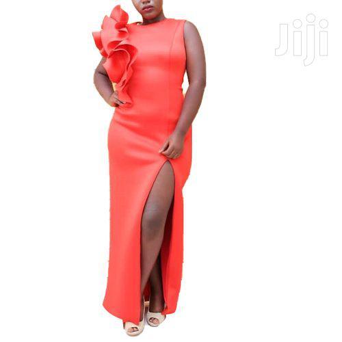 Side Slit Designer Changing Dress - Red | Wedding Wear & Accessories for sale in Kampala, Central Region, Uganda