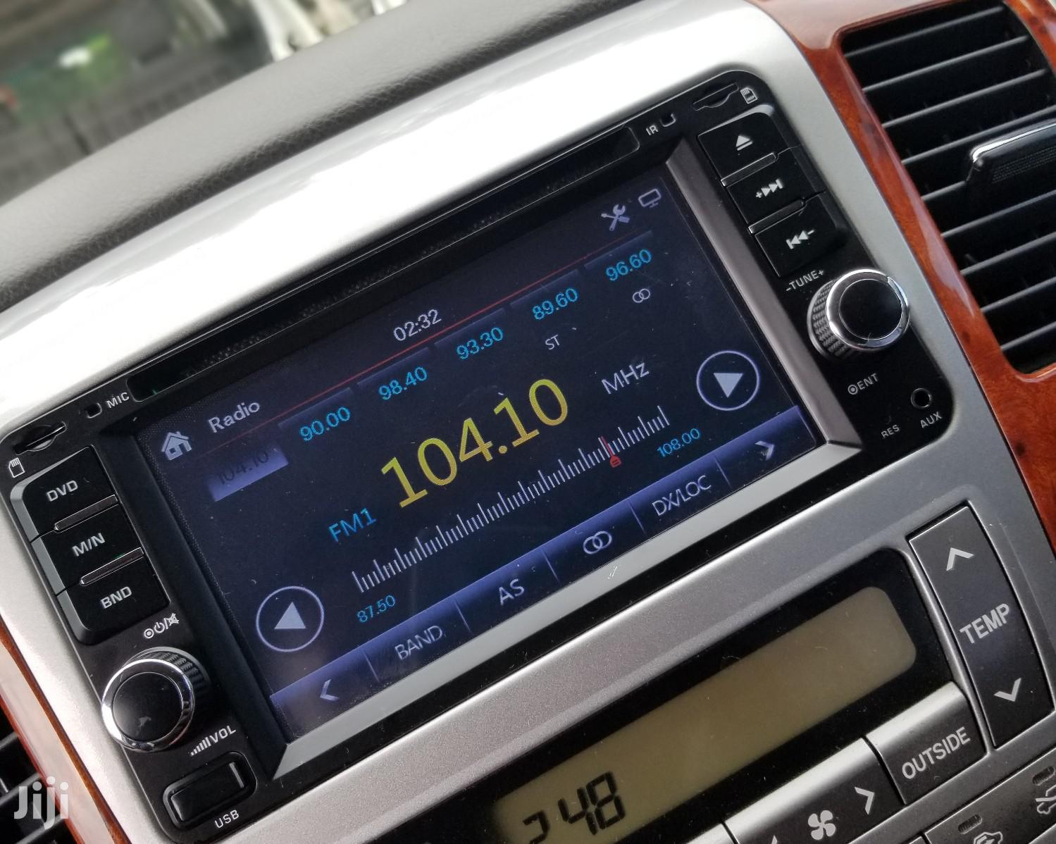 Hot SONY Car Radio With Video