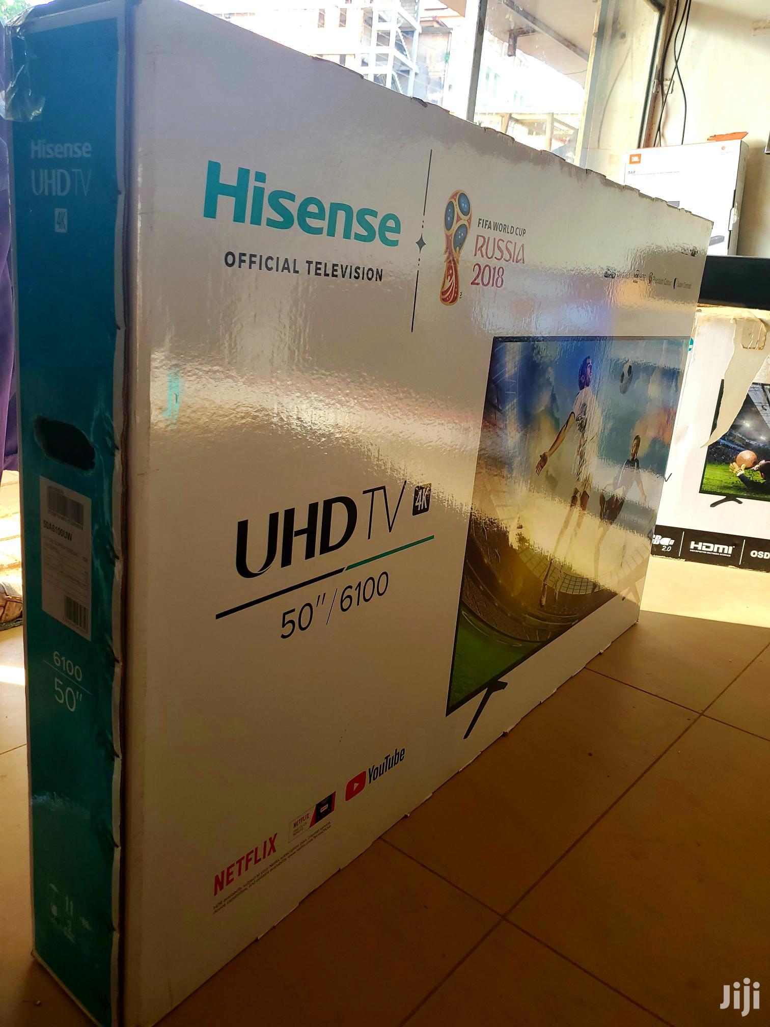 Brand New Hisense Smart Uhd 4k Tv 50 Inches