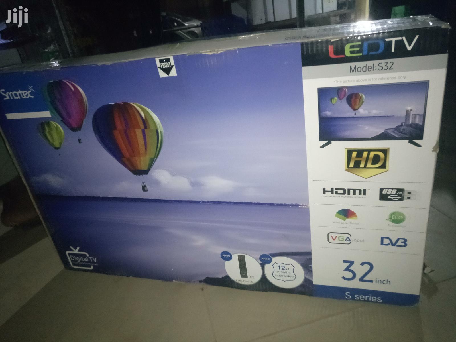 Smartec Flat Screen Digital TV 32 Inches   TV & DVD Equipment for sale in Kampala, Central Region, Uganda