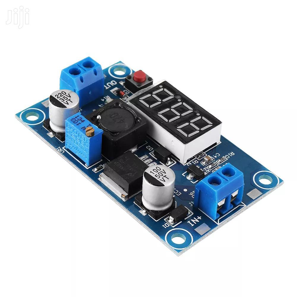 LM2596 DC-DC Voltage Regulator Adjustable Step Dow Module With Display
