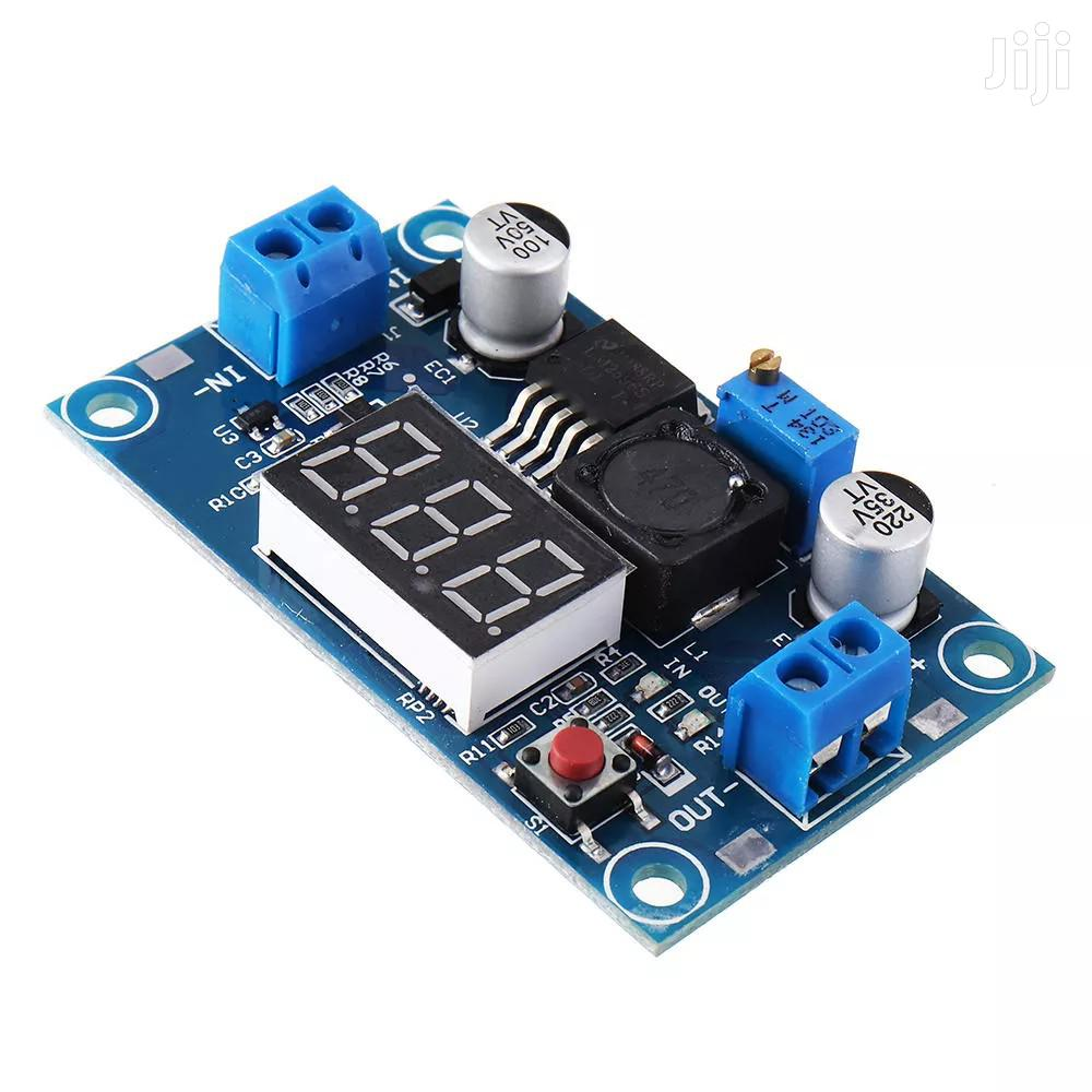 LM2596 DC-DC Voltage Regulator Adjustable Step Dow Module With Display | Electrical Equipment for sale in Kampala, Central Region, Uganda
