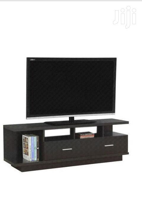 Elegant TV Stand Black in Colour