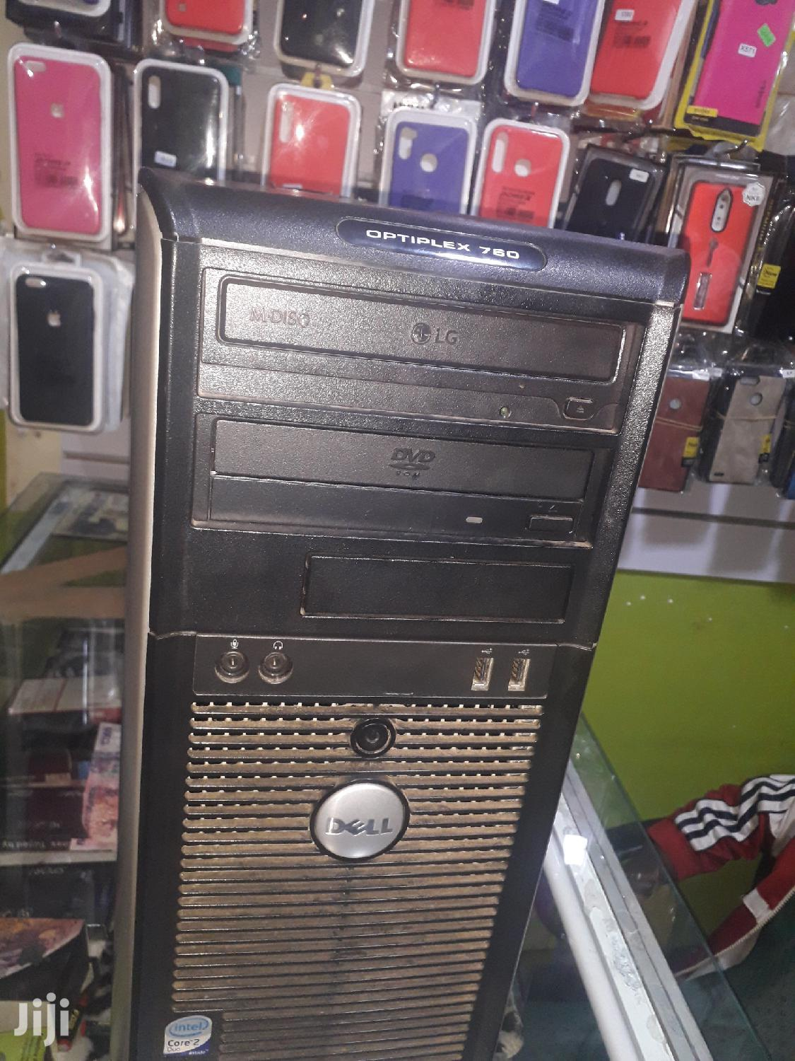 Desktop Computer Dell OptiPlex 7050 1GB Intel Core 2 Duo HDD 160GB | Laptops & Computers for sale in Kampala, Central Region, Uganda