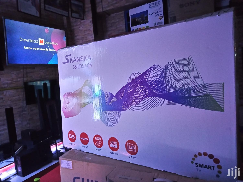 Skanska 55 Inch Uhd Android Smart TV