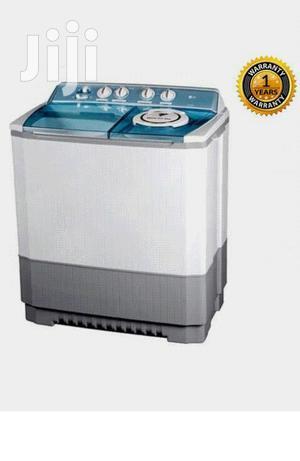 LG P1460 RWN Twin Tub Washing Machine Weighing 11kg.White And Grey