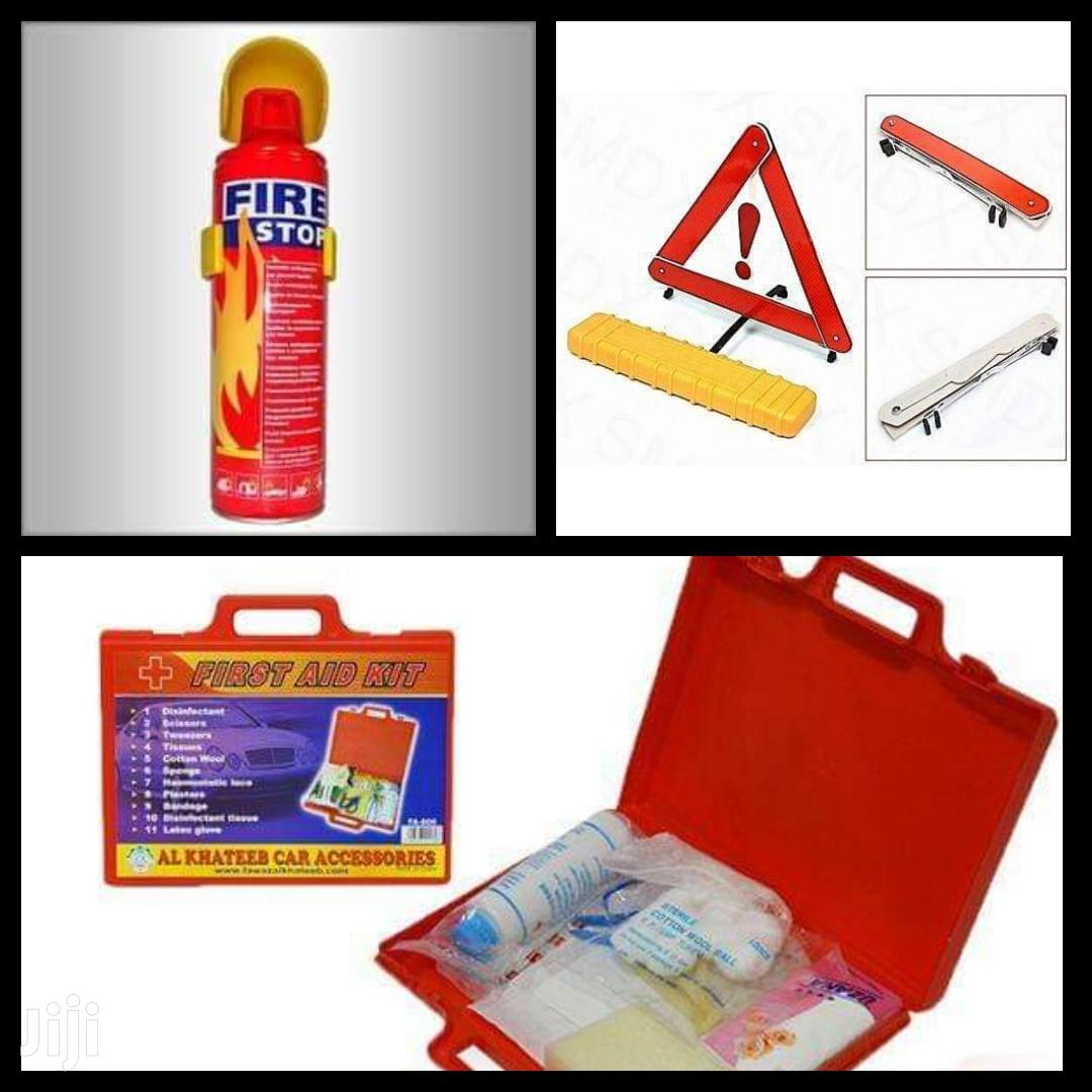 First Aid Set Available