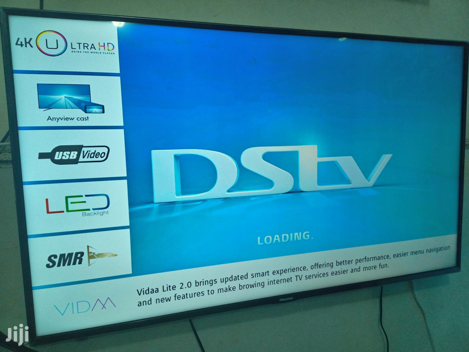 Hisense Smart UHD Flat Screen Tv 55 Inches