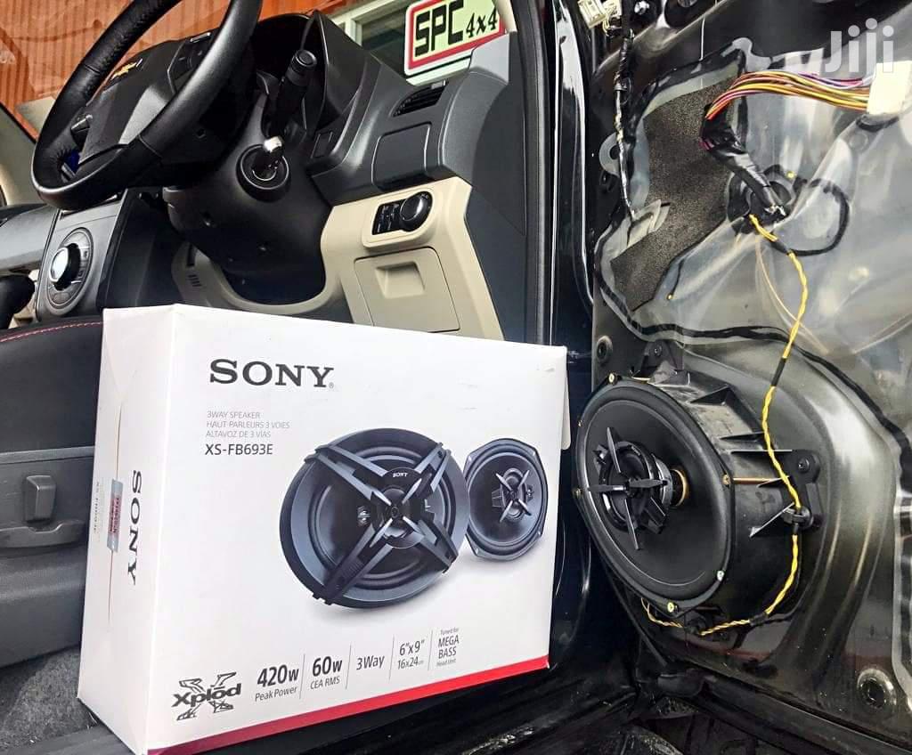 Legit Sony Door Speakers