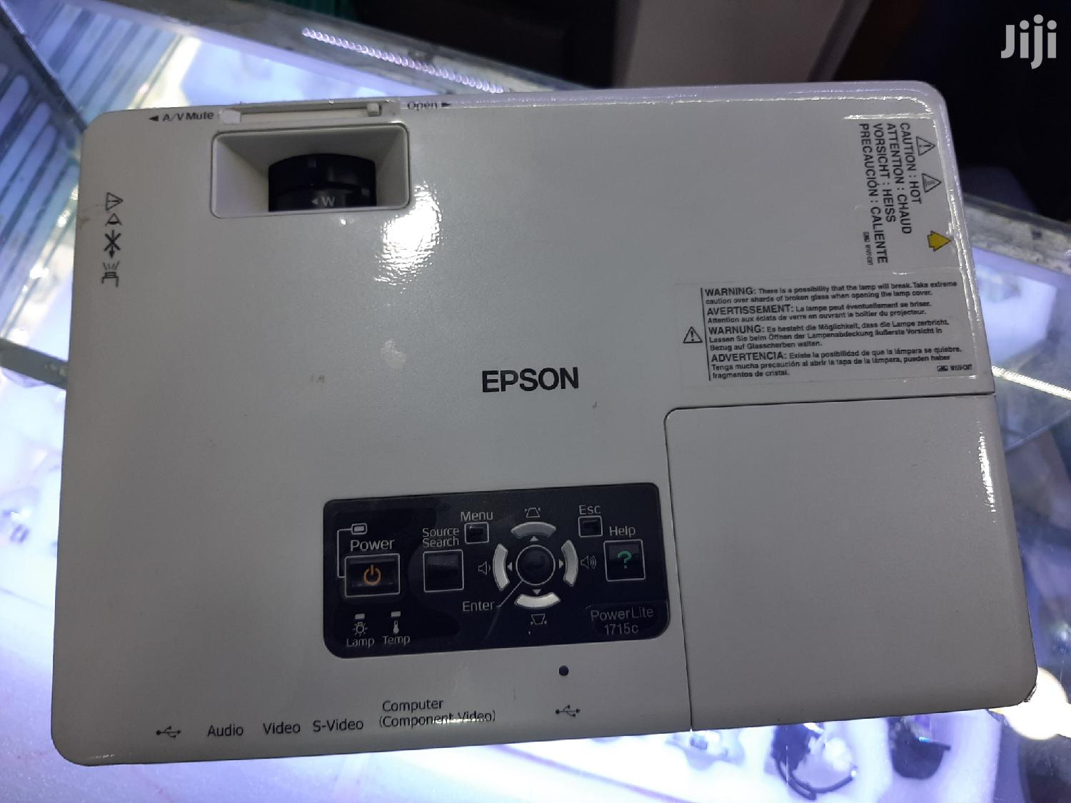 Archive: Epson Emp 1715 Projector
