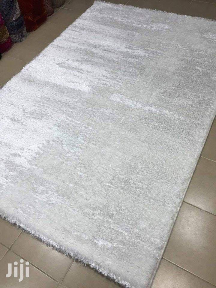 Modern Rags Shaggy Plain White 220*150