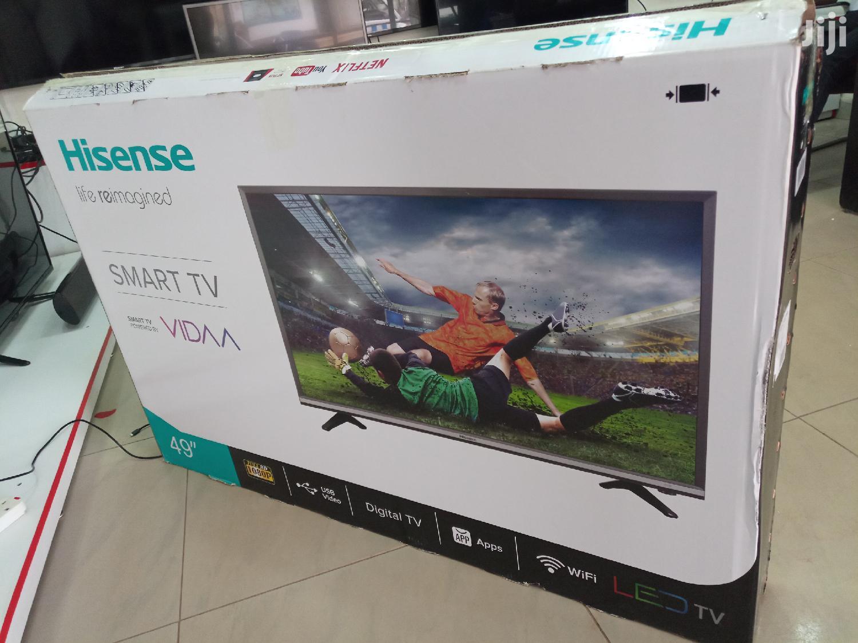 Brand New Hisense Smart UHD Tv 50 Inches | TV & DVD Equipment for sale in Kampala, Central Region, Uganda