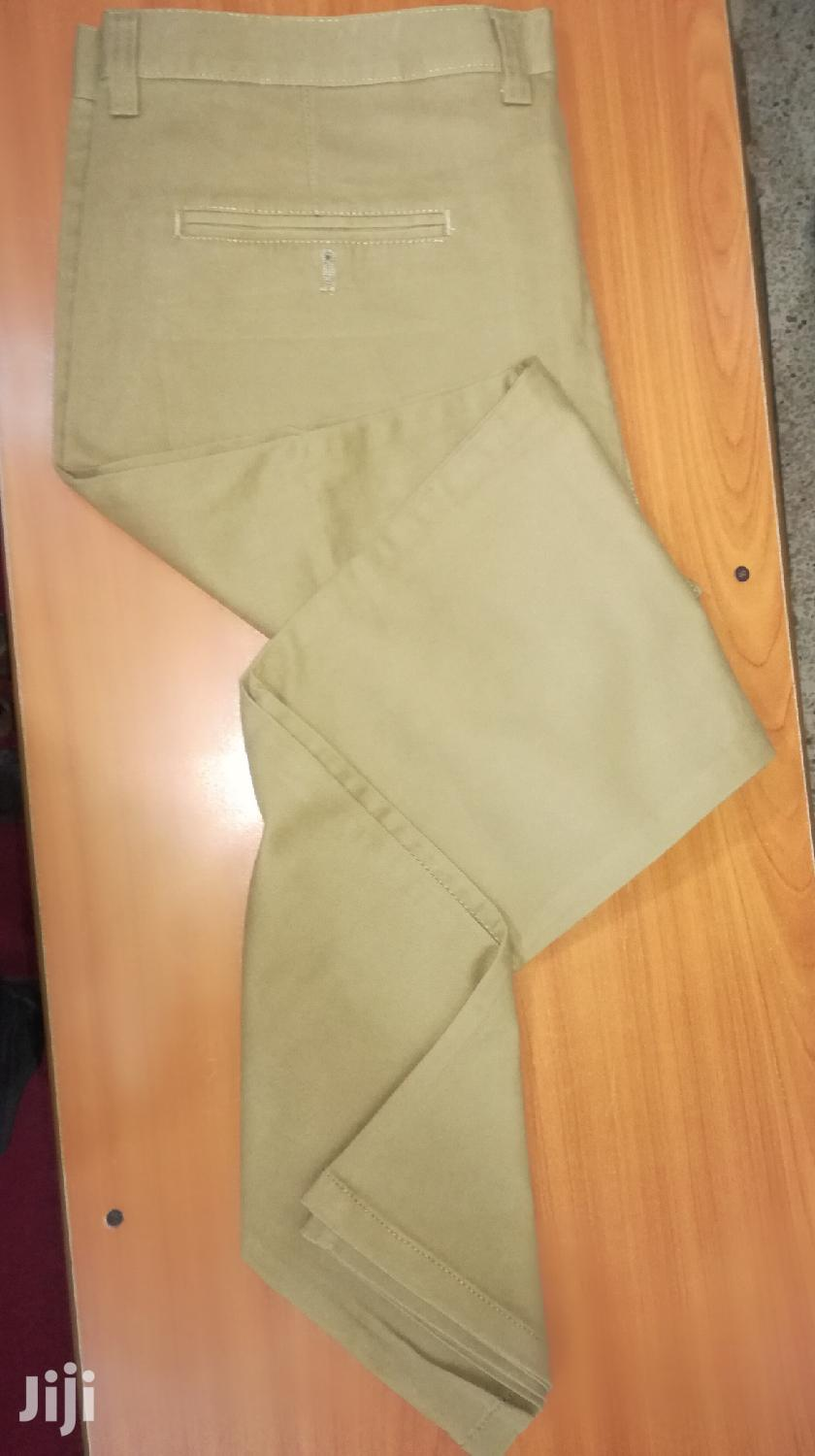 Archive: Khaki Trousers
