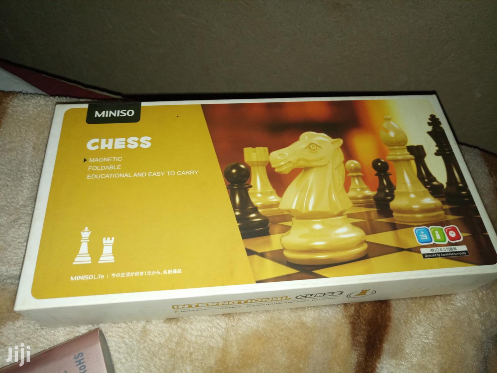 Archive: Portable Chess Board