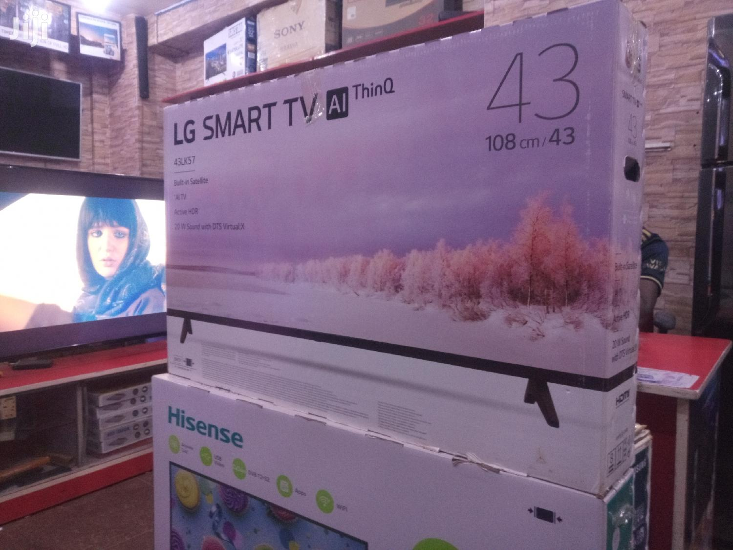 LG 43inches Uhd Smart TV