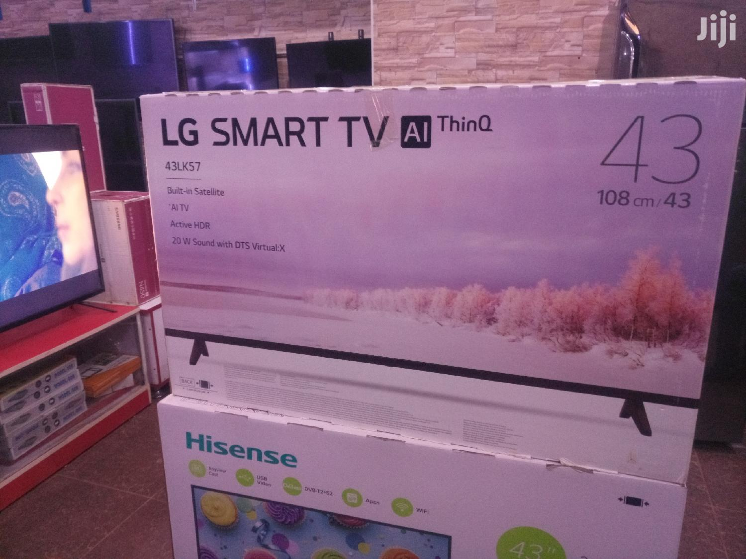 LG 43inches Uhd Smart TV | TV & DVD Equipment for sale in Kampala, Central Region, Uganda