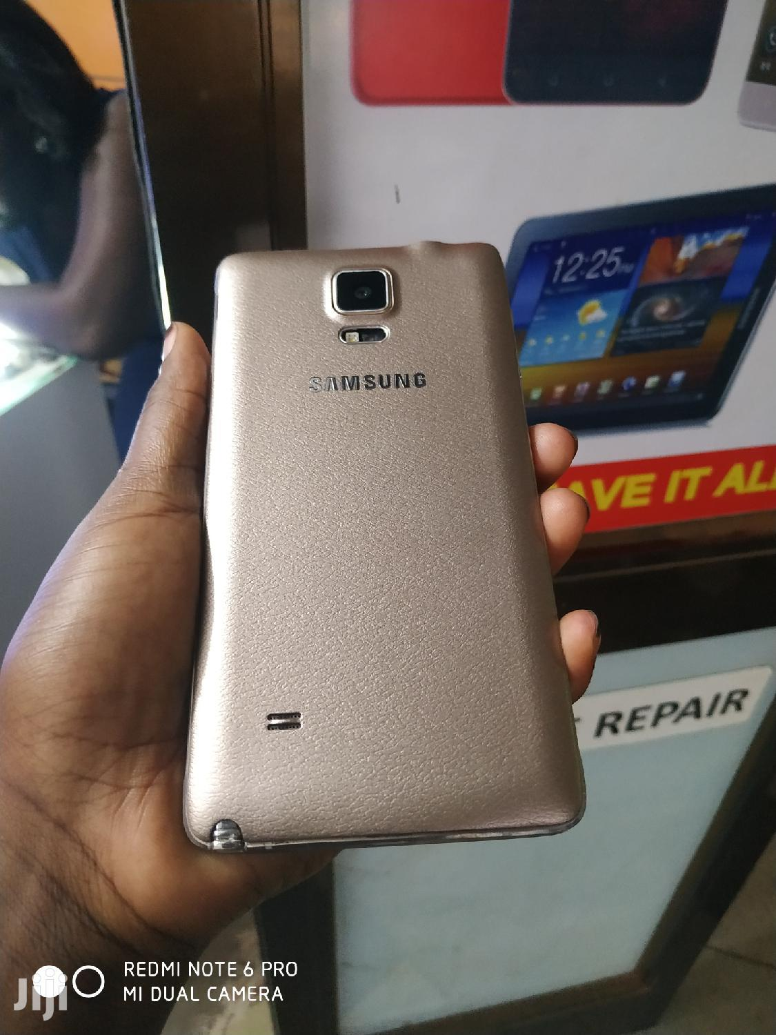 Samsung Galaxy Note 4 32 GB Gold | Mobile Phones for sale in Kampala, Central Region, Uganda