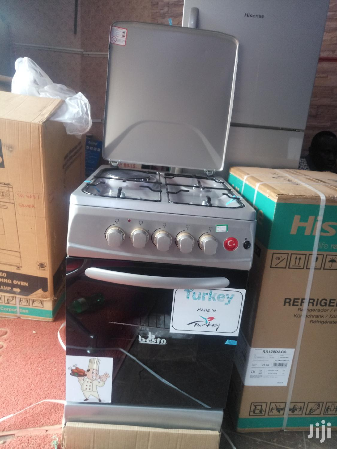 Besto 3+1 Gas and Electric Cooker