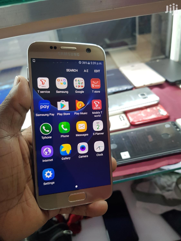 Samsung Galaxy S7 32 GB Gold   Mobile Phones for sale in Kampala, Central Region, Uganda