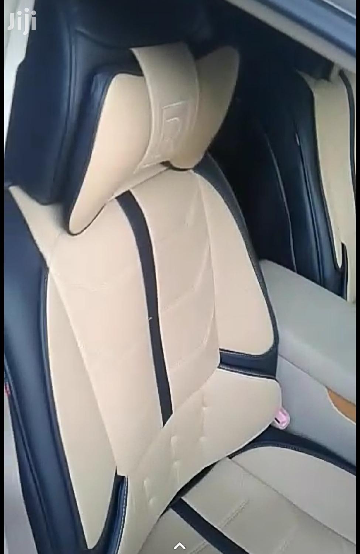 Cream Seatcovers With Black